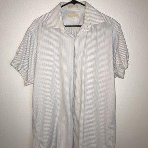 Michael Kors short sleeve dress shirt